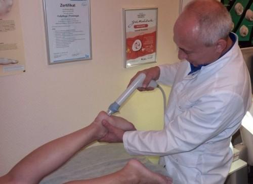 Ударно волновая терапия пяточной шпоры