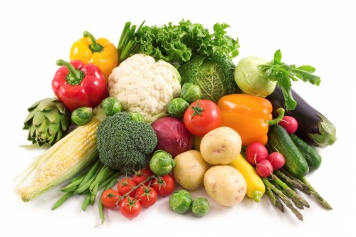 Овощи в свежем виде
