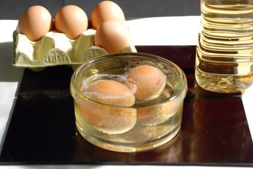 Мазь из яиц и уксуса