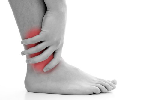 Три степени деформирующего остеоартроза сустава голеностопа
