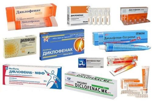 Диклофенак таблетки сильное обезболивающее средство