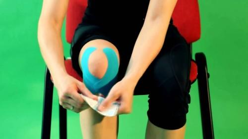 Фиксация колена