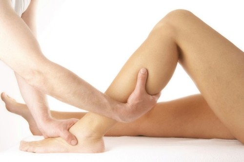 Растяжения связок голеностопного сустава